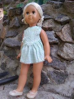 Кукла 65 см, СССР, парике, клеймо