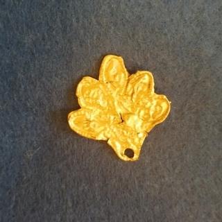 Скифская бляшка Золото