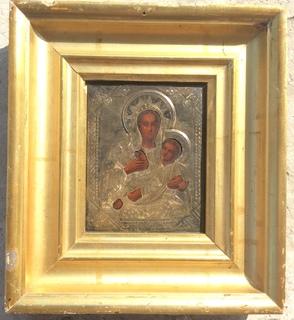 Козельщанская Богородица,84,позолота
