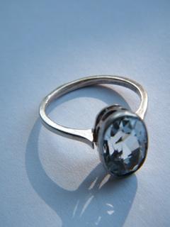 Серебряное кольцо.875 пр.
