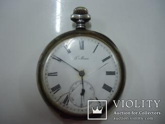 Часы карманные T.Moser.Серебро