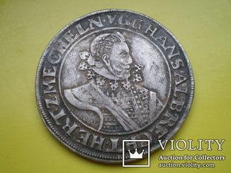 Талер Мекленбурга 1623 год.
