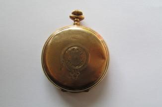 """Золотые карманные часы """"56 ."""