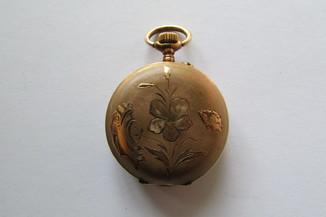 """Золотые карманные часы """"56 женские ."""