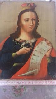 Икона.Великой мученицы Пораскева