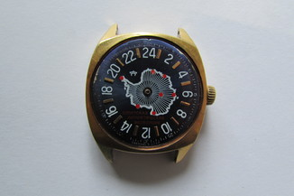 Часы Ракета 24 часа «Советская Антарктическая Экспедиция»