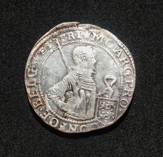 Рейксдальдер Соединённых провинций 1619 год.