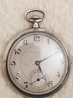 Часы карманные TISSOT серебро