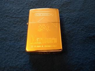 Зажигалка Solid Gold Zippo 18K Marlboro