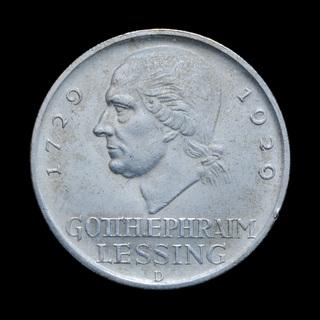 5 Марок 1929 D Лессинг, Германия