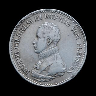 Талер 1817 А Фридрих Вильгельм III, Пруссия