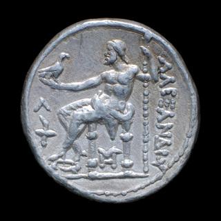 Тетрадрахма Александра Македонского Посмертная 315-294гг, город Амфиполь
