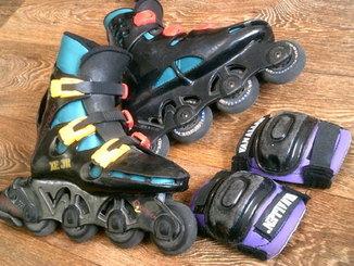 Oxygen (Австралия) - ролики ,защита ,рюкзак- бокс