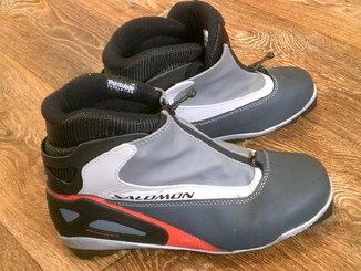 Salomon (Румыния) - профи ботинки для беговых лыж