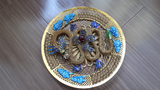 Тарелка Китай дракон