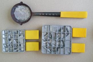 2 формы для отливки оловянных солдатиков 1108 и 1003 Германия