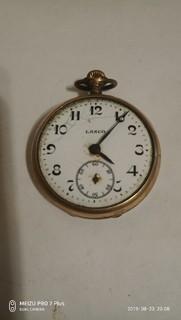 Карманные позолоченные Часы Lanco
