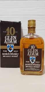 Glen Adam Pure Malt Scotch Whisky 100%Malt Whisky  75cl.  40%vol.