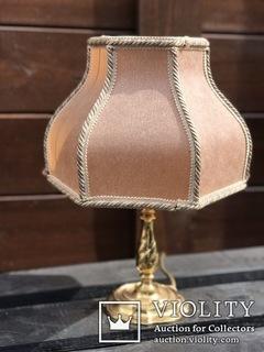 Настольная лампа. Винтаж. Европа,