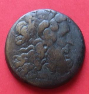 Драхма(Ае-40)Птоломея III Эвергета, царя Египта