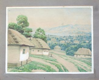 Шовкуненко А.А. (1884 - 1974). Украинская деревня.