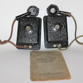 1936 ссср игрушка телефон телефонный аппарат довоенная