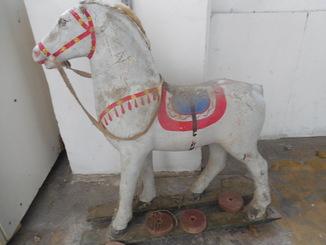 Игрушка СССР Конь для езды