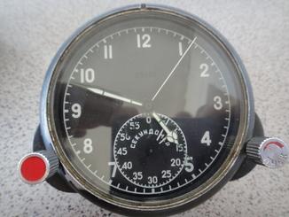 Часы Авиационные. 60 ЧП. Работают, с пломбой