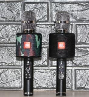 Беспроводной микрофон Karaoke JBL K-319 с подсветкой