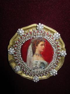 Портрет Елизавета Баварская - императрица Австрии (1837-1898)