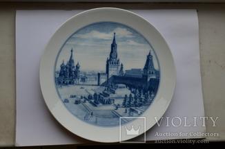 Тарілка настінна «Московский Кремль» Мейсен