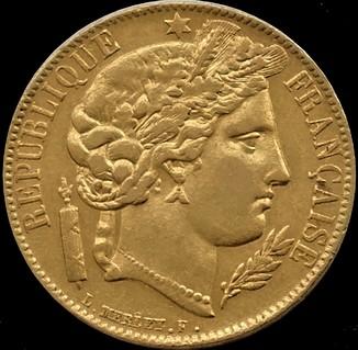"20 франків 1850 року ""Маріанна"" ІІ Французька республіка"