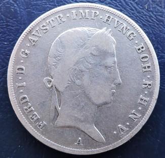 Пів талера 1843