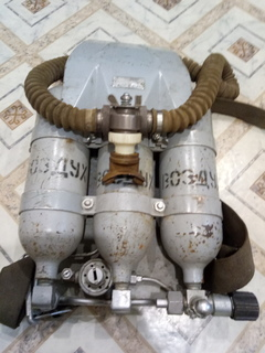 Подводный дыхательный аппарат ШАП 62.
