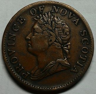 Новая Шотландия 1/2 пенни 1832 год