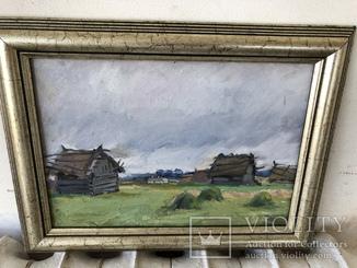 Матюшенко В И « Русская деревня « 1953 год