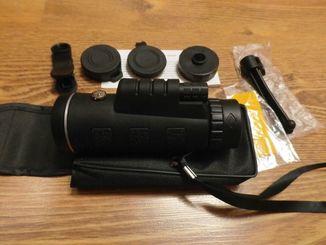 Монокуляр 40x60 HD Panda 1500-9500m с двойной фокусировкой+компас+ крепление для телефона