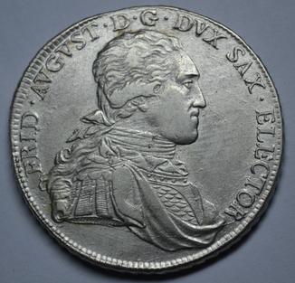Талер 1800 года, Саксония