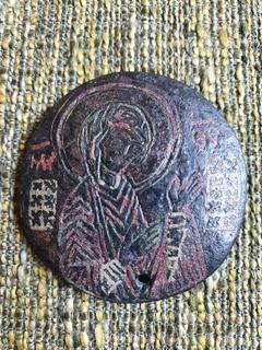 Богородица Агиосоритисса. Выемчатые эмали. XIII-XIVвв.