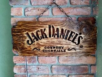 Jack Daniels светильник декор.