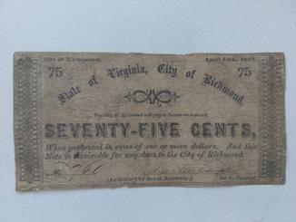 75 центов 1862