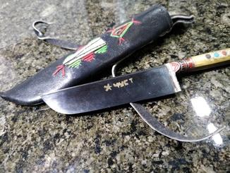 """Нож """"Пчак"""" из города Чуст как новый."""