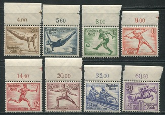 1936  Рейх олимпиада летняя полная серия с полями