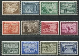 1939 Рейх немецкая почта 702- 713 полная серия