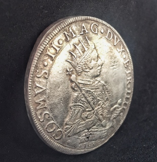 Талер Cosimo II De' Medici 1618 год