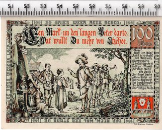 1 марка. Нотгельд. Германия.