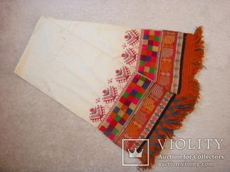 Рушник Миргородский - ручная вышивка шерстяной нитью