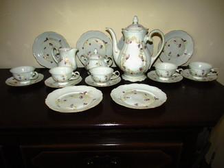 Сервиз чашки блюдца тарелки чайник сахарница молочник Reichenbach Райхенбах Германия