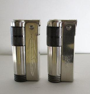 2 зажигалки IMCO Triplex Super 6700 Western