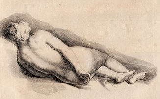 Старинная гравюра. 18-19 век. Неизвестный гравер. Бумага верже. (29х38см.).